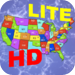 advanced Puzzle Map Of USA HD Lite