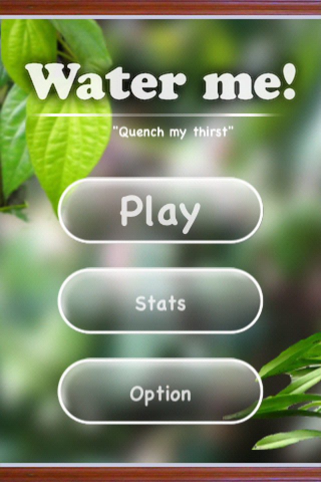 Screenshot Water me!