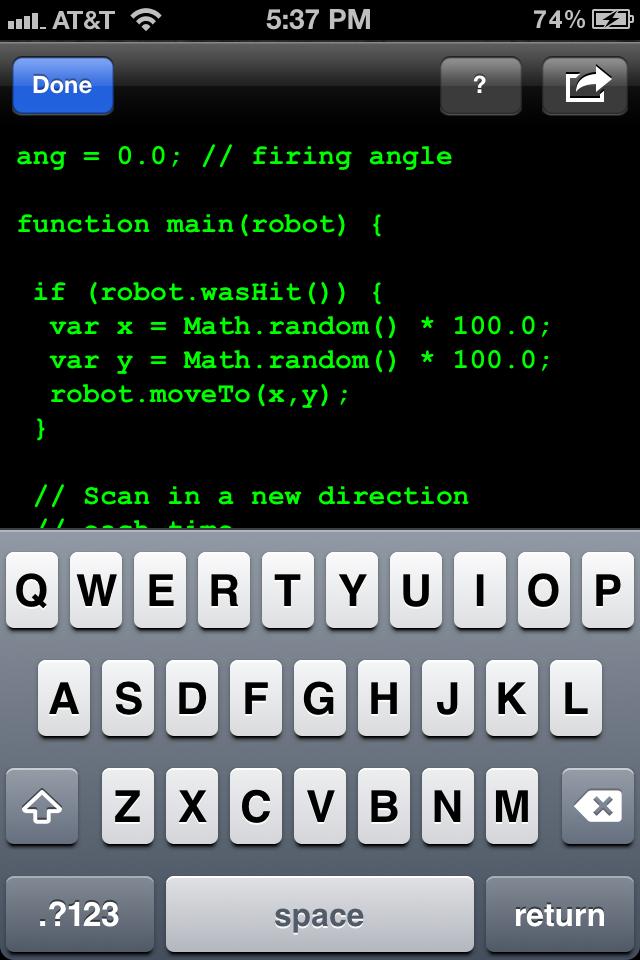 Screenshot BOTwaR